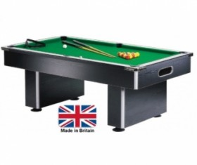 7ft gatley slimline slate bed pool table