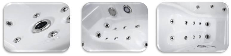 twin spa plug and play hot tub jets